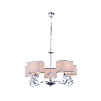 Люстра BENETTI Classic Marchesa хром/белый, 5хE14, коллекция CLS-013