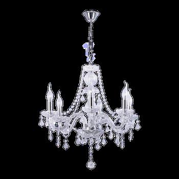 Люстра BENETTI Crystal Limpido хром, 6xE14, коллекция CRL-001