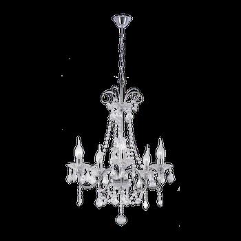 Люстра BENETTI Crystal Splendido хром, 5xE14, коллекция CRL-002