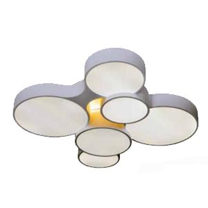 Светильник BENETTI LED Geometria белый, с изменяемой цветовой температурой 57Вт 3000K/6000K, LED-041