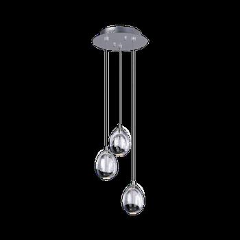 Светодиодный светильник BENETTI Modern Goccia подвесной хром, LED 4,8Вт/3 3000К, 920 Lm, коллекция MOD-001