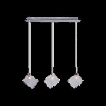 Cветильник BENETTI Modern Kubo подвесной хром, 3хG9, коллекция MOD-030