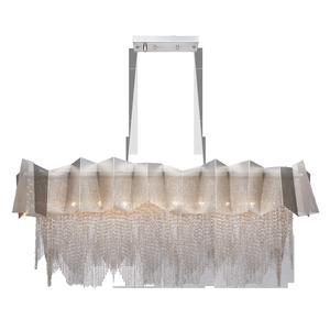 Люстра BENETTI Modern Fregio подвесной никель/никель, 8xE14, коллекция MOD-066