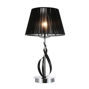Лампа настольная BENETTI Modern Nastro хром/черный, 1xE27, коллекция MOD-068